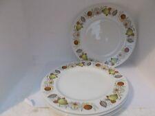 5 alfred meakin glo white 20cm dia plates (evesham pattern)