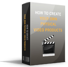 How to Create Your Own Physical Video Products (ebook-pdf file) free shipping