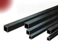 Carbon-Vierkant-Rohr 4.0x4.0 x 1000 mm CFK-Rohr