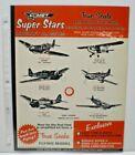 """VTG 1960 COMET """"TRUE SCALE"""" balsa Flying model single sided Dealer Sales flyer"""
