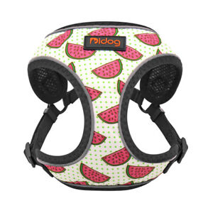 Cute Soft Mesh Small Dog Cat Harness Pet Puppy Safety Reflective Walking Vest