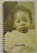 Journal Vintage African-American Browntone Photograph Cover. Blank, lined pages