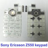 100% Genuine NEW Original Sony Ericsson Z550 Z550i Z550a Keypad Fascia Housing