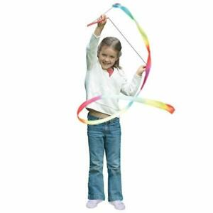 Nastro Arcobaleno Per Ginnastica Danza Artistica Ritmica Multicolore 200 CM