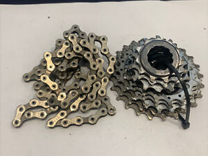 Campagnolo Super Record Cassette 11speed 11-25 With Chain