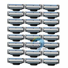 24Pcs Generic Replacement Blades Cartridges Fr Gillette Mach 3 Shaving Razor【US】