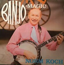 Norm Koch Bango Magic EP Adelaide Nationwide Label Annotated & Autographed VGC