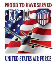 KC-10 Boom Operator Garden Flag