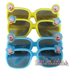 PEPPA PIG PLASTIC SUNGLASSES (4 pairs) ~ Birthday Party Supplies Novelty Favors