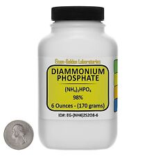 Diammonium Phosphate [(NH4)2HPO4] 98% Pure AR Grade Powder 6 Oz in a Bottle USA