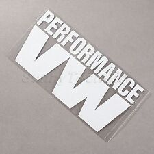 PERFORMANCE VW Car Truck Window Laptop Reflective Vinyl Sticker Wholesale