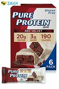 Pure Protein Bars High Protein Nutritious Snacks to Support Energy Low Sugar