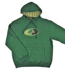 NWT Mossy Oak Men's Repeat Hoodie Forest Green Logo Hooded Sweatshirt Size L