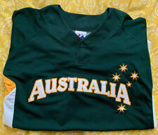 Australia Official Team World Baseball Classic Jersey Aussie WBC - Size Mens M