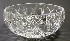 """Crystal Bowl 7"""" W X 3"""" Tall with Star on Inside Bottom"""