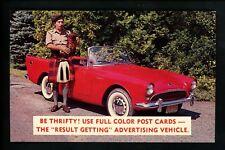 Advertising postcards on postcard Thomas Melvin Photography PA NJ bagpipes