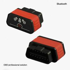 New  Bluetooth WiFi  ODB2 OBDII Car Auto Fault Diagnostic Scanner Tool+CD Driver
