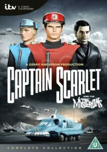 Captain Scarlet And The Mysterions - Complete Collection ---- 6-disc DVD Boxset