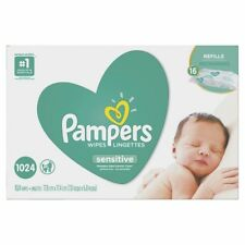 Pampers Sensitive Baby Wipes 1024-count Perfume Thicker 80268047