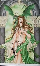 Nene Thomas Fairy Print Oracle Dragon Witch Sword - 13 by 19