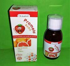 Promelo Kids Sirop pour Enfants 150 ML Drasanvi Pamplemousse Système Immunitaire