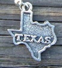 State of Texas Pewter Charm