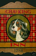 King Charles Spaniel Dog Art Poster by Kari Phillips