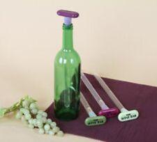 Wine Bar Cooler Stopper  Chiller Chill Stick Wine Rod Barware Light Purple