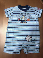 INFANT/BABY BOYS CARTER'S ALL STAR 28 ROMPER  SIZE 6 MONTHS