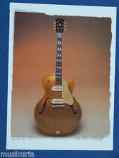 az/ handmade greetings / birthday card GIBSON ES 175 GUITAR