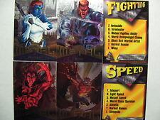 1995 Fleer Marvel Metal Complete Master Set  - NM/M