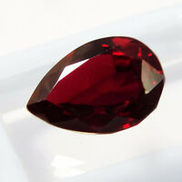 7 Ct CERTIFIED Free Ship! Top Red 100%Natural Ruby Precious Loose Gemstone