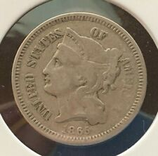 1865 P US 3 Cent Coin (C#2943)