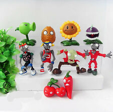 10 Plants v Zombies Game Bungee Zombie Action Figures Kids Toy Cake Topper Decor