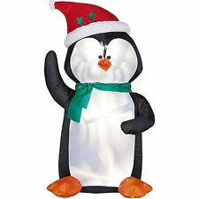 Gemmy 8.5' Penguin blow up Christmas inflatable