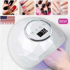 80W LED UV Lamp Nail Dryer Gel Polish Light Quick Drying Curing Machine Beauty