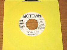 "PROMO SOUL 45 RPM - BONNIE POINTER - MOTOWN 1484 - ""DEEP INSIDE MY SOUL"""