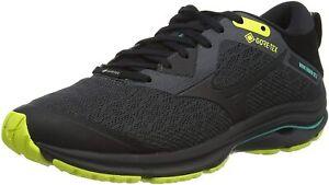 Mizuno Running Shoes Wave Rider Gore-Tex 2 Mens Black Yellow