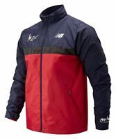 New Balance Men's 2019 NYC Marathon Windcheater Jacket Red with Navy
