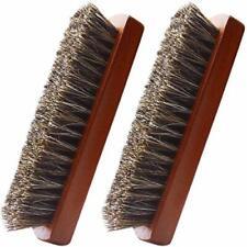 Shoe Brush, Set Hand Scrubbing Brush Horse Hair Brushes Shine Buff Polish
