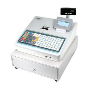 Sharp XEA217XW Registrierkasse Kasse Kassensystem Gastronomiekasse grau TSE