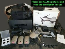 DJI Mavic Pro Platinum 4K Drone Fly More Combo - Excellent Used Condition Bundle
