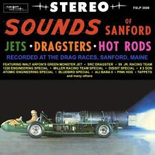 Sounds of Sanford Jets - Dragsters  Hot Rods CD NEW!!