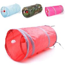 Funny Pet Cat Tunnel Balls Foldable Puppy Dog Tube Kitten Play Hides Toys Supply