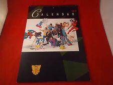 M&P Promo 1993 12-Month Calendar Feat. Sonic 2 Mega Man 5 Felix SF NES SNES Sega