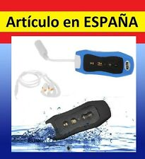 Reproductor MP3 ACUATICO 4Gb memoria natacion resistente agua ipx8 AURICULARES