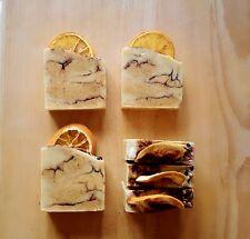 Handmade and 100% Natural soap bars Orange & Cinnamon 80-85gr