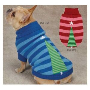 East Side Collection Christmas Star Acrylic Dog Sweater Size Choice Unisex