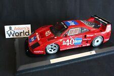 MG Model Ferrari F40 GTE 1:18 #40 Laffite / Haywood IMSA Championship '90 (PJBB)