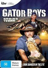 Gator Boys : Series 3 (DVD 2015, 3-Disc Set) NEW